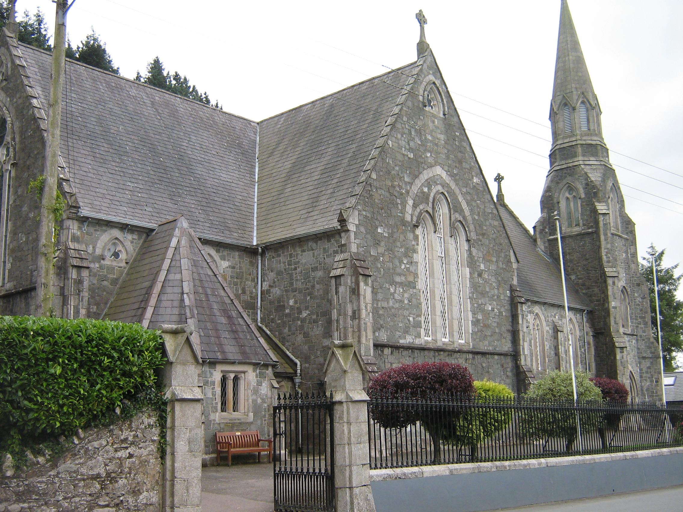 Avoca Ireland  city photos : Church in Avoca, Ireland Wikimedia Commons