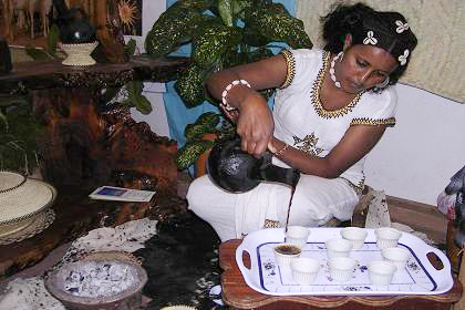 Coffee is Ethiopia's principal source of income