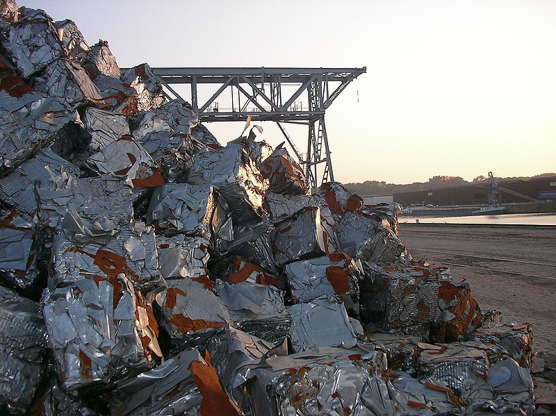 Steel Scrap Metal : Ferrous metal recycling wikipedia