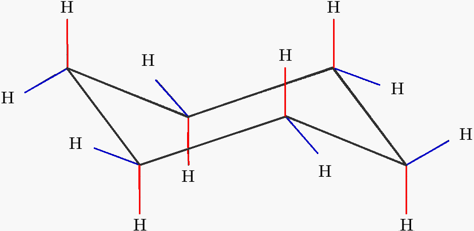 Chair conformation axial equatorial - File Cyclohexane Structure Png Wikimedia Commons
