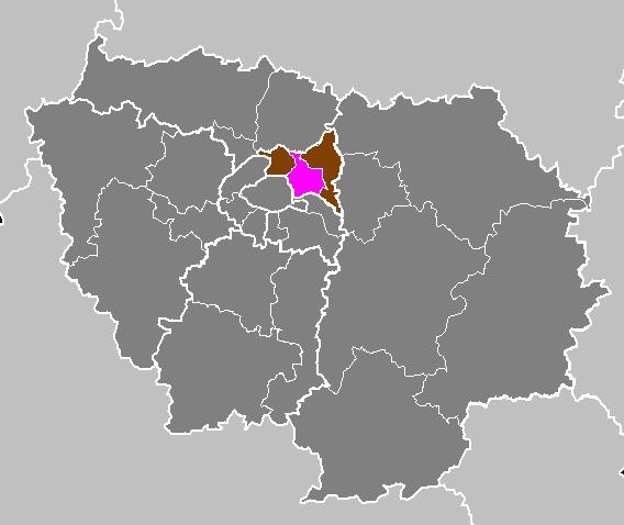 Arrondissement de bobigny wikip dia - Chambre des notaires seine saint denis ...
