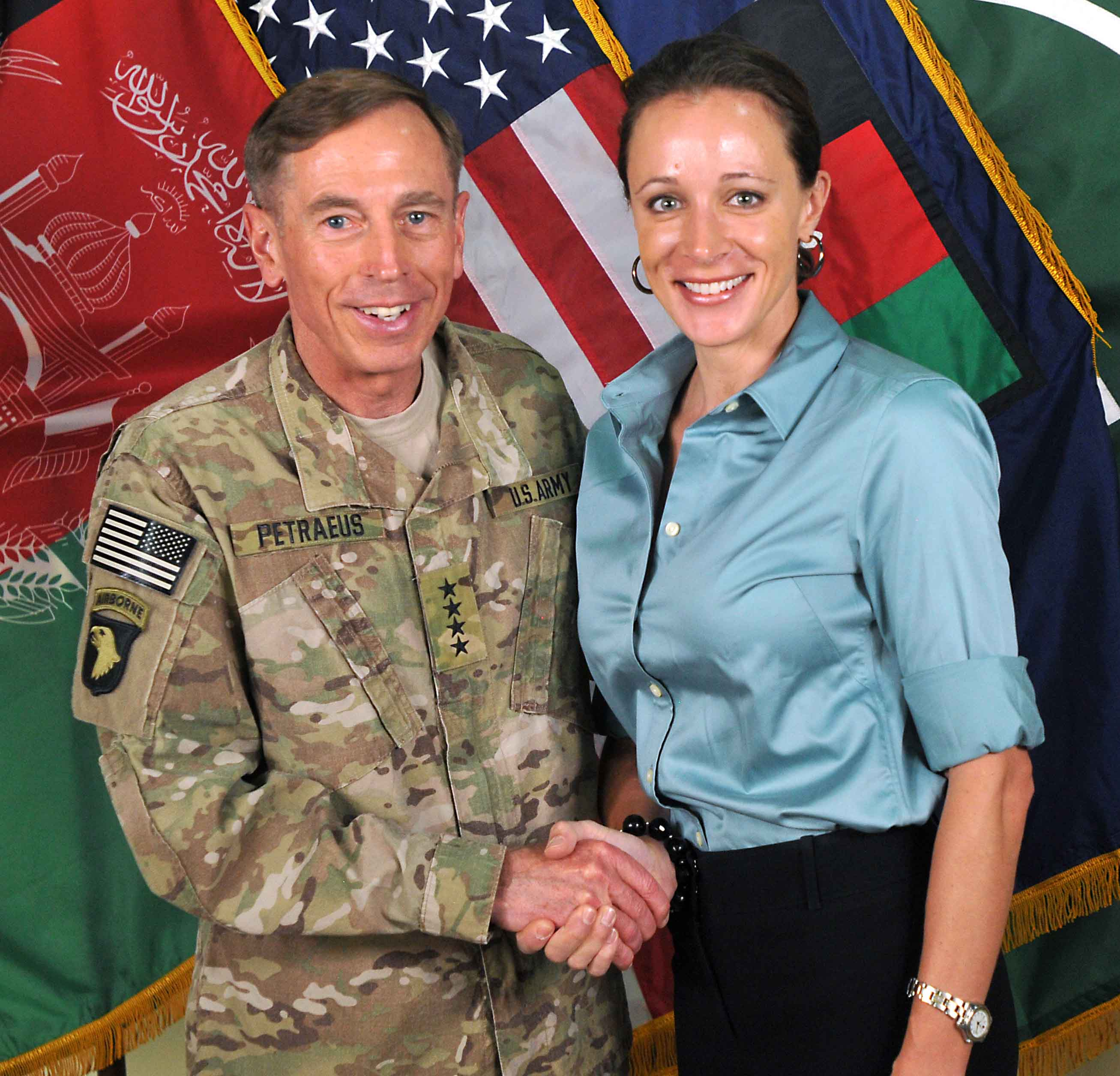 General David Petraeus and author Paula Broadwell