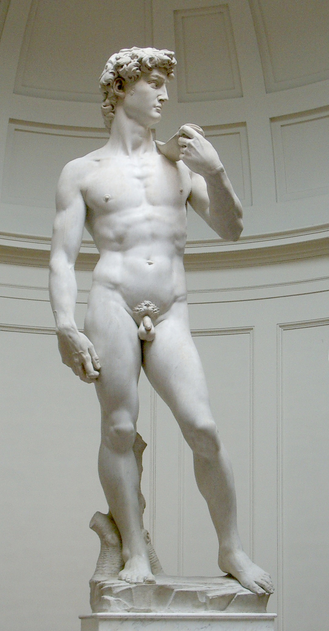 Sculpture of David, by Michelangelo