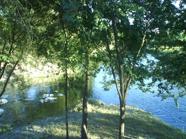 Desembocadura del Arroyo en el Río Manzanares