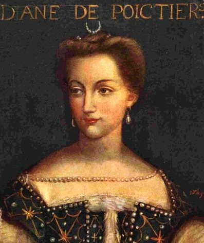 Diane de Poitiers (September 3, 1499 - April 25, 1566)