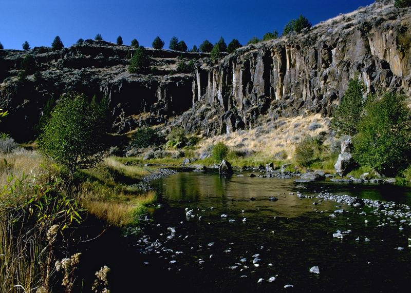 Donner Und Blitzen River Harney County Oregon Basin Wikipedia