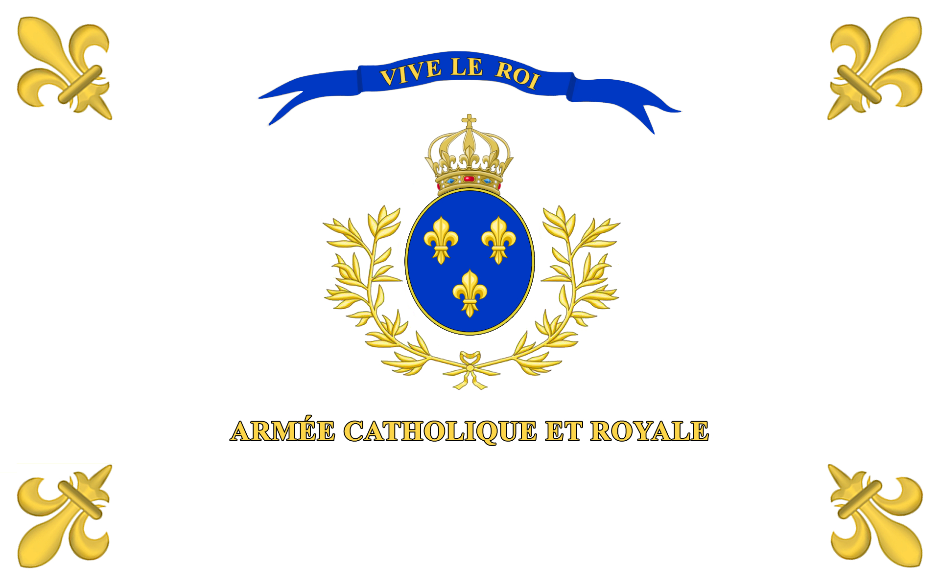 Archivo: Drapeau armée vendéenne 2.jpg
