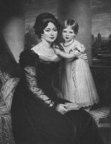 Vitória de Saxe-Coburgo-Saalfeld (mais tarde D...