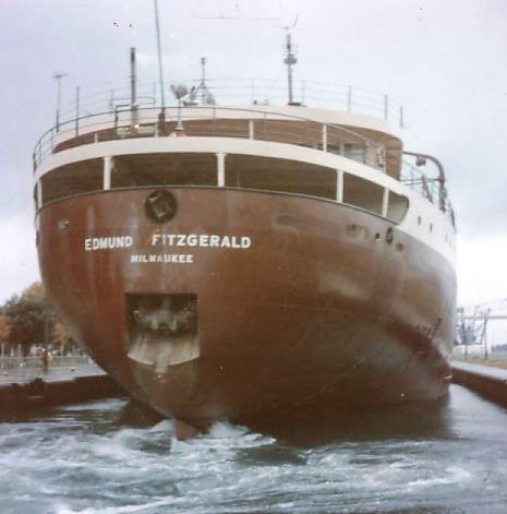 Edmund Fitzgerald in MacArthur Lock