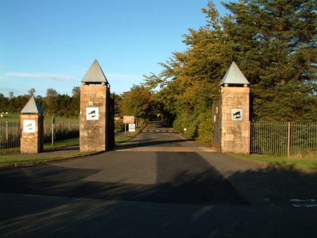 Entrance to Palacerigg Country Park - geograph.org.uk - 560657