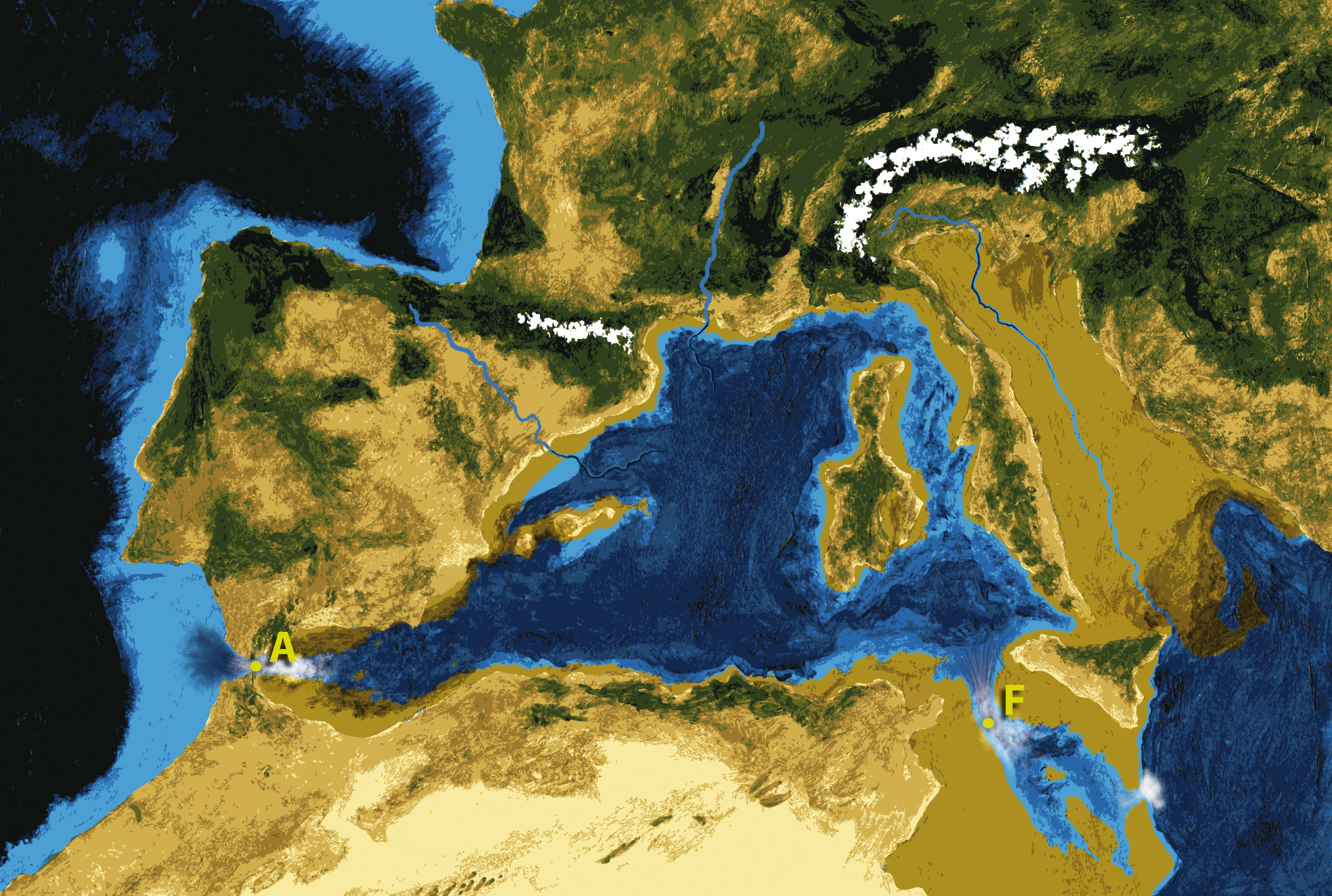 Zanclean Flood Wikipedia