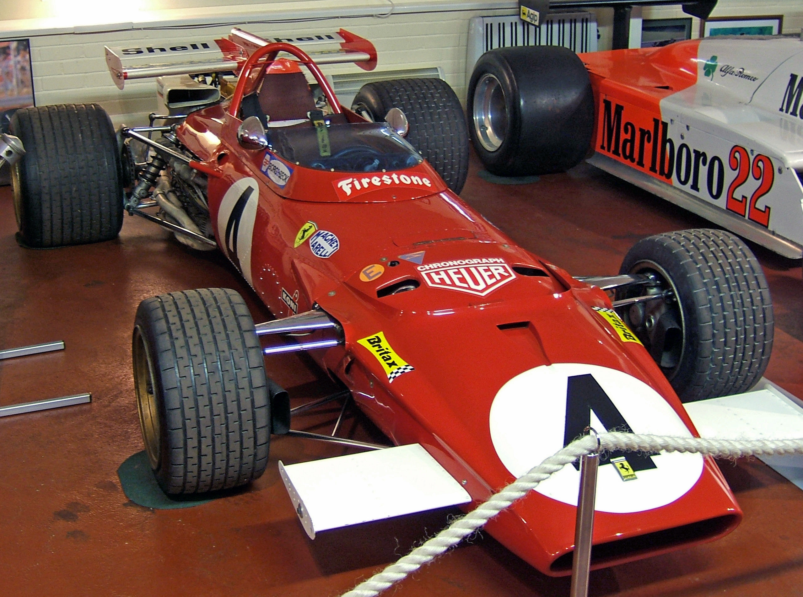 Mobil F1 tahun 1970