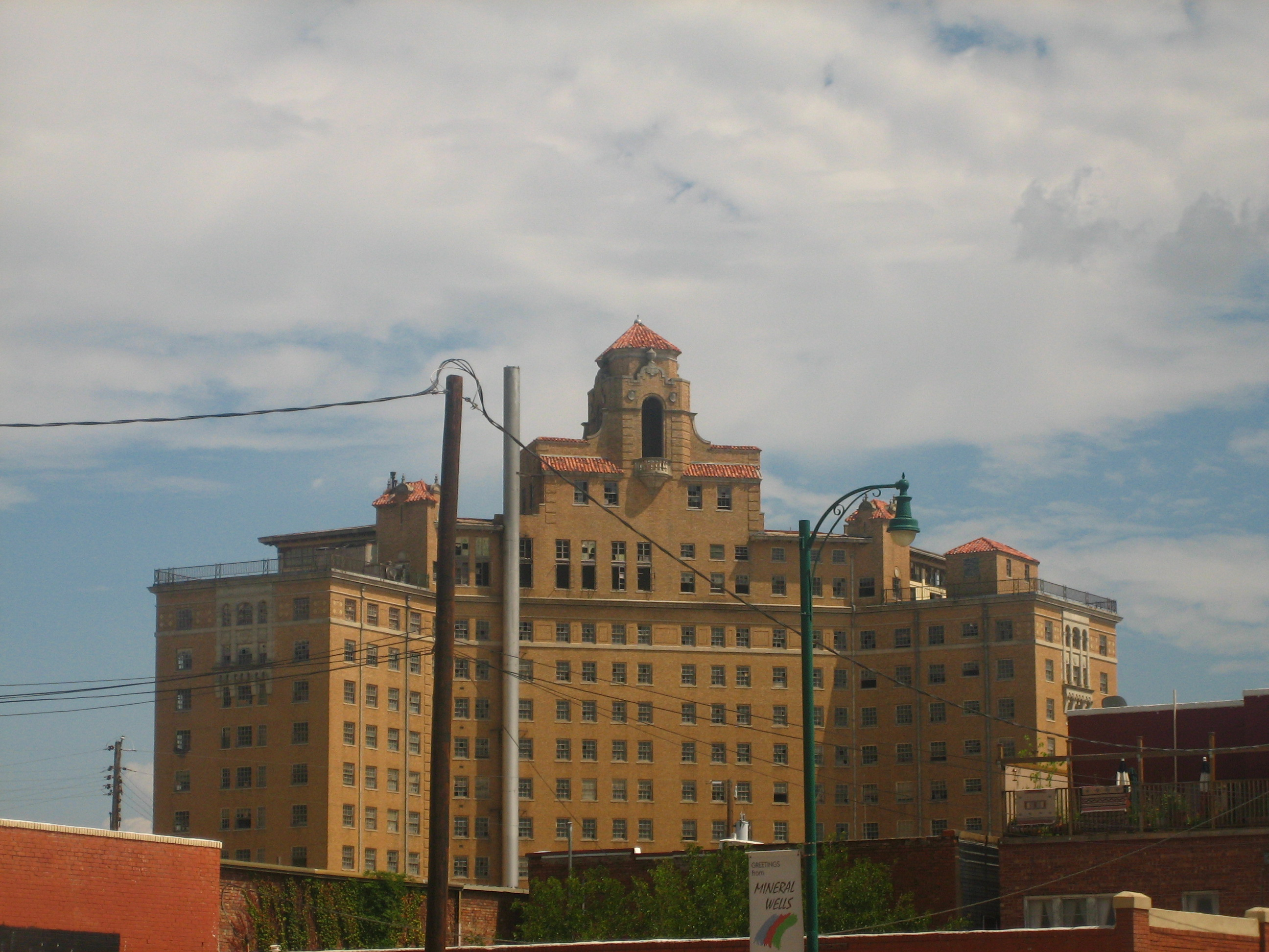 File Former Baker Hotel In Mineral Wells Tx Picture 2224 Jpg