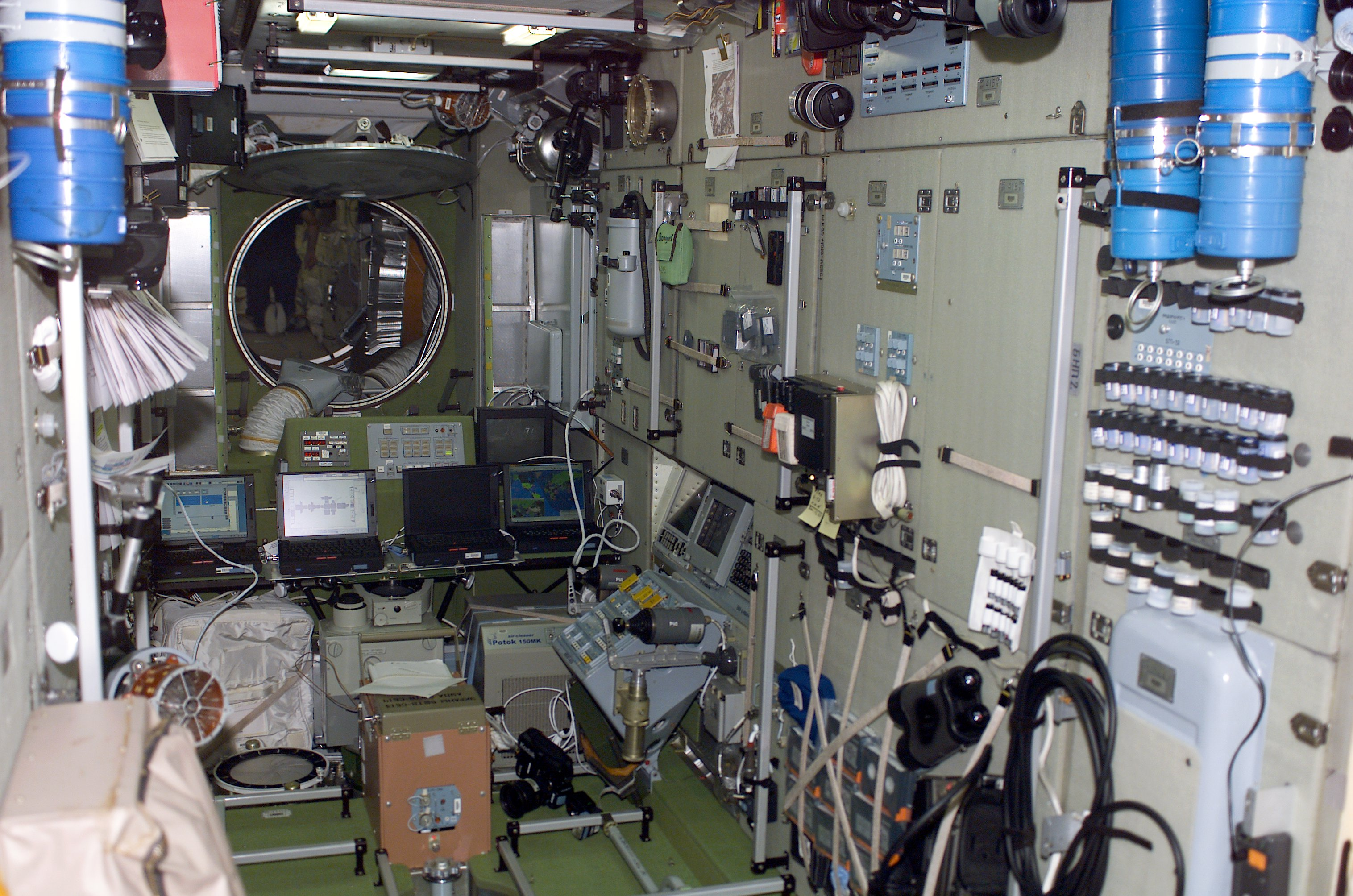 space station 5 2001 interior - photo #35