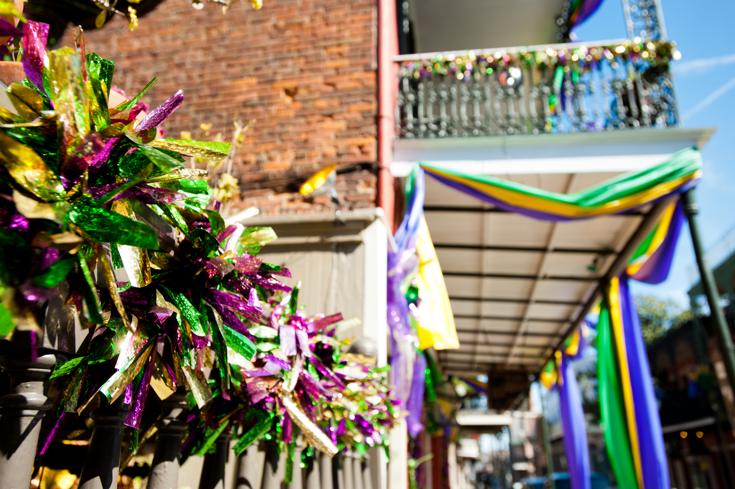 FileFrench Quarter Decorations for Mardi Gras