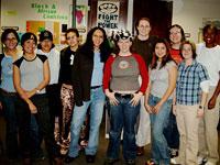 Eleven of the twelve founders of Gamma Rho Lambda