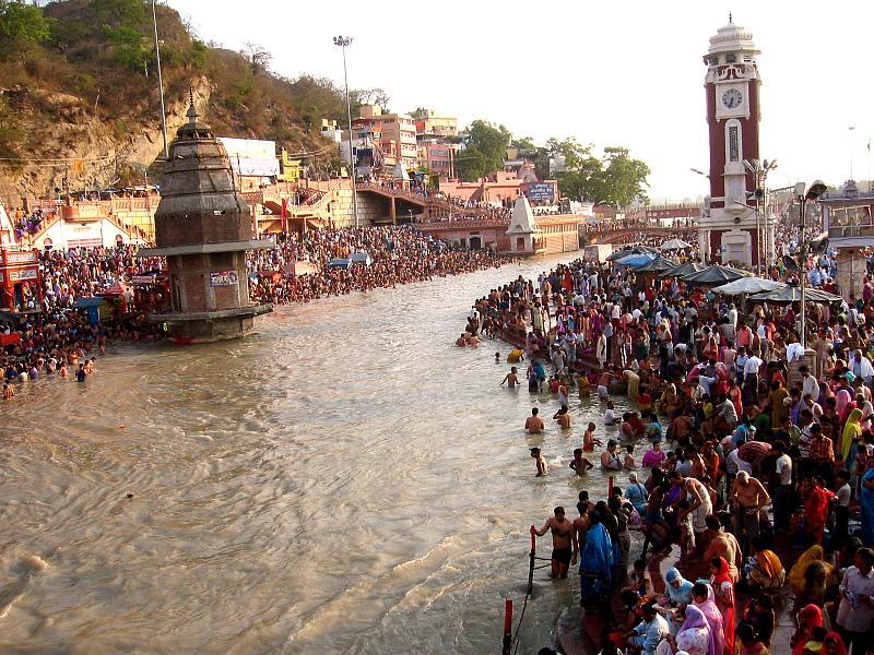 Ganga Dashara Festival, 2005 at Har ki Pauri, Haridwar