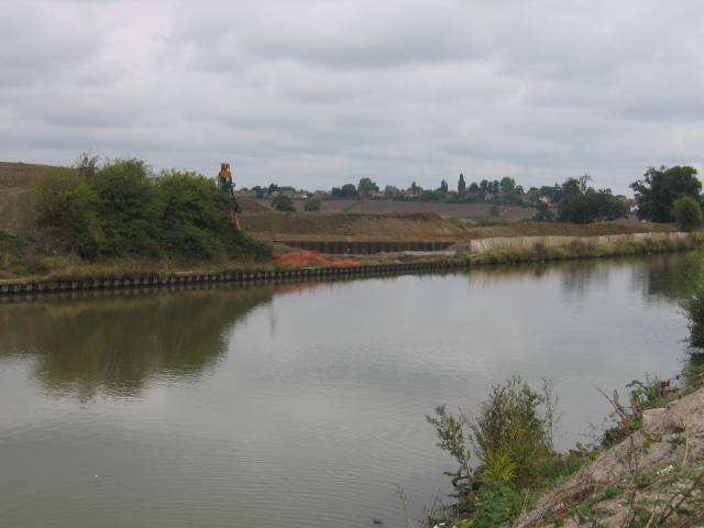 Gloucester and Sharpness Canal Two Mile Bend - geograph.org.uk - 59408