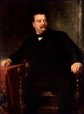 Official White House portrait of Grover Cleveland