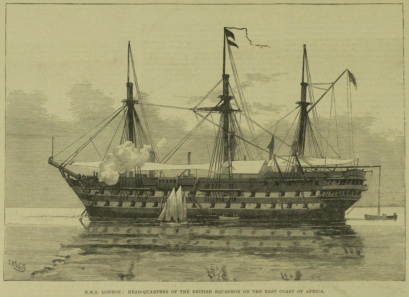 hms london 1840 wikipedia