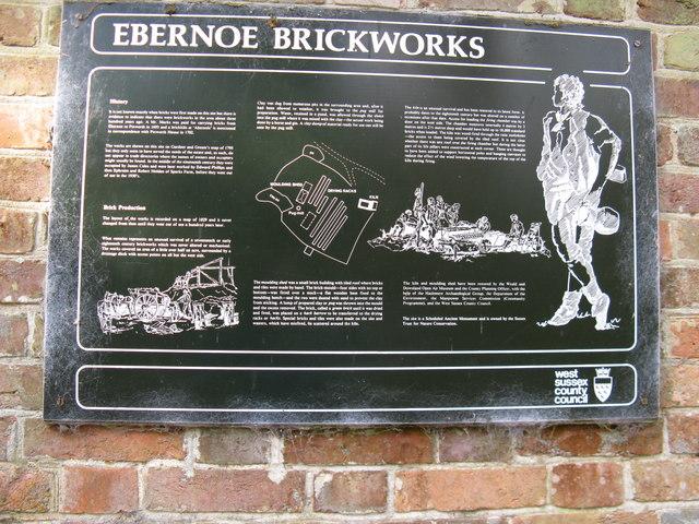 History and making of Ebernoe brickworks - geograph.org.uk - 1162784