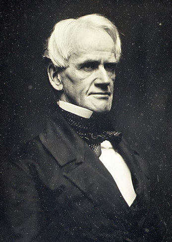 Daguerrotype of Horace Mann, about 1850, by Southworth and Dawes