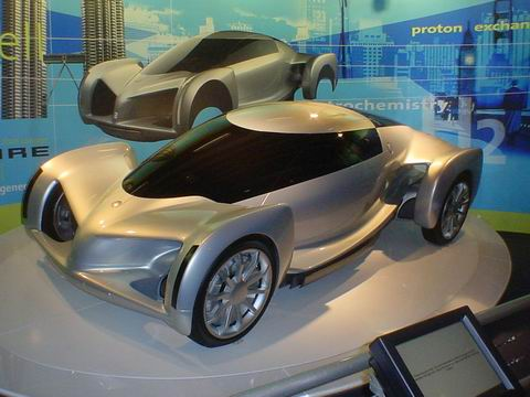 GM Hy-Wire concept car