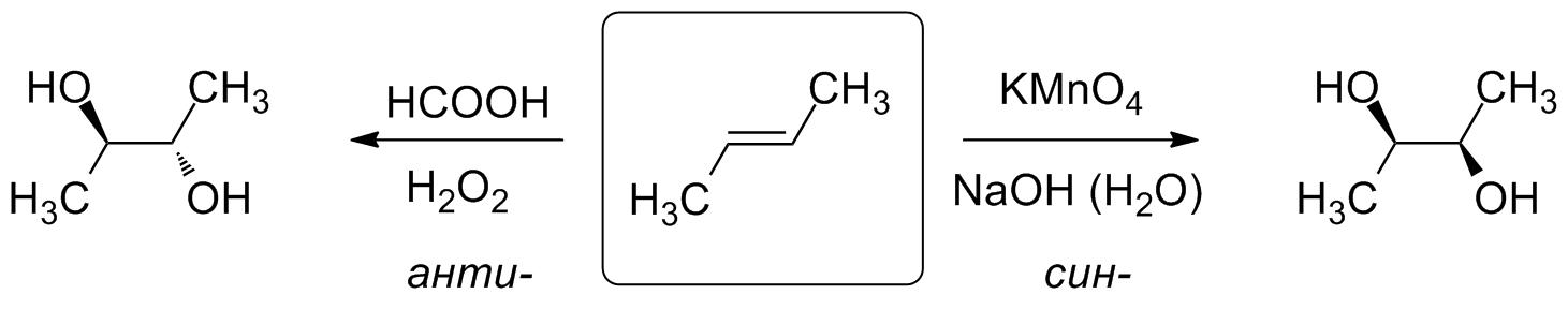 Гидроксилирование алкенов