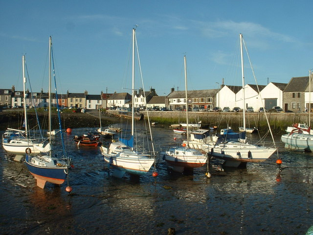 File:Isle of Whithorn Harbour - geograph.org.uk - 214189.jpg