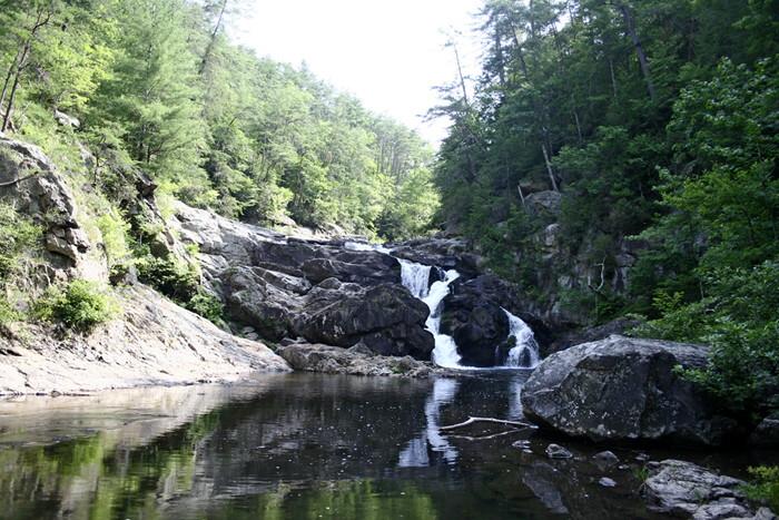 Jacks River Falls in Georgia