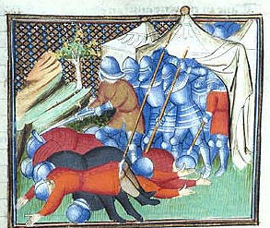«Guerras e males, en tanto grado, que en el tiempo de los Bandos hovo muchas muertes de hombres e muchos males que causaban»[5]