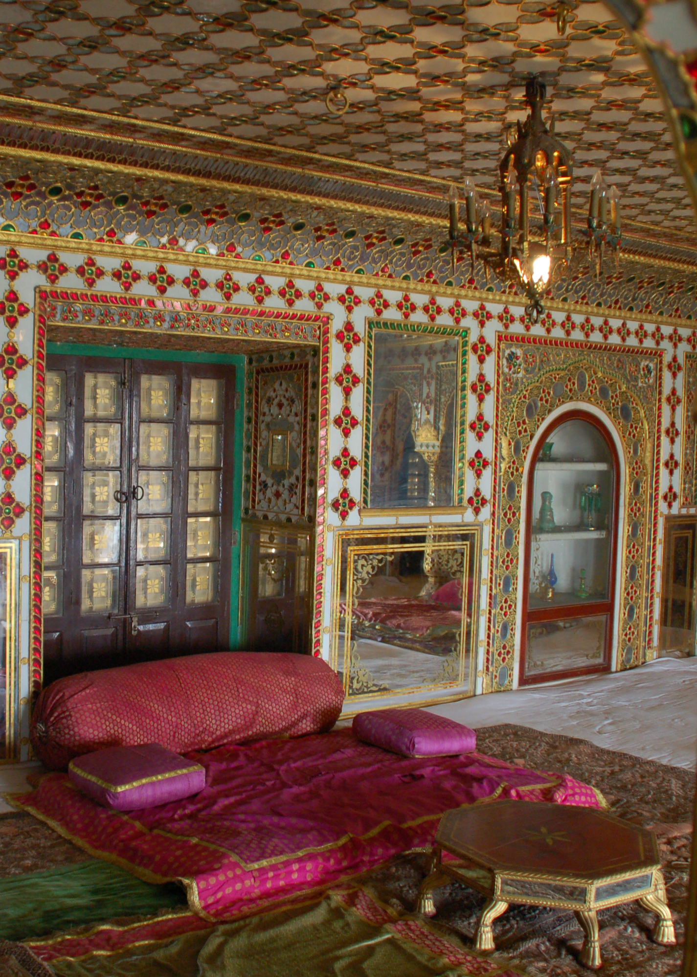 File jaipur city palace interior for Interior design wikipedia