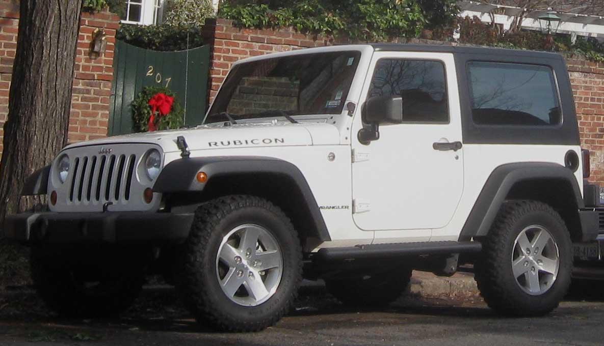 jeep wrangler rubicon: