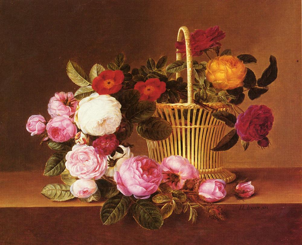Johan Laurentz Jensen - En kurv af roser på en kant.jpg