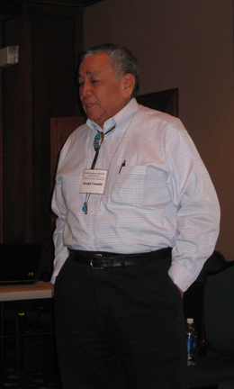 J.T. Goombi, former Kiowa tribal chairman and first vice-president of the National Congress of American Indians - Kiowa