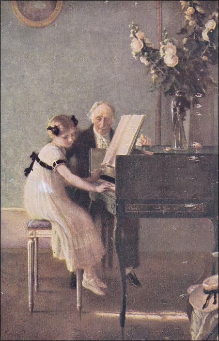 Lecon de piano a queue - 1 part 9