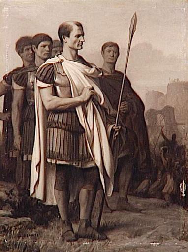 Jules César entouré de ses généraux.jpg