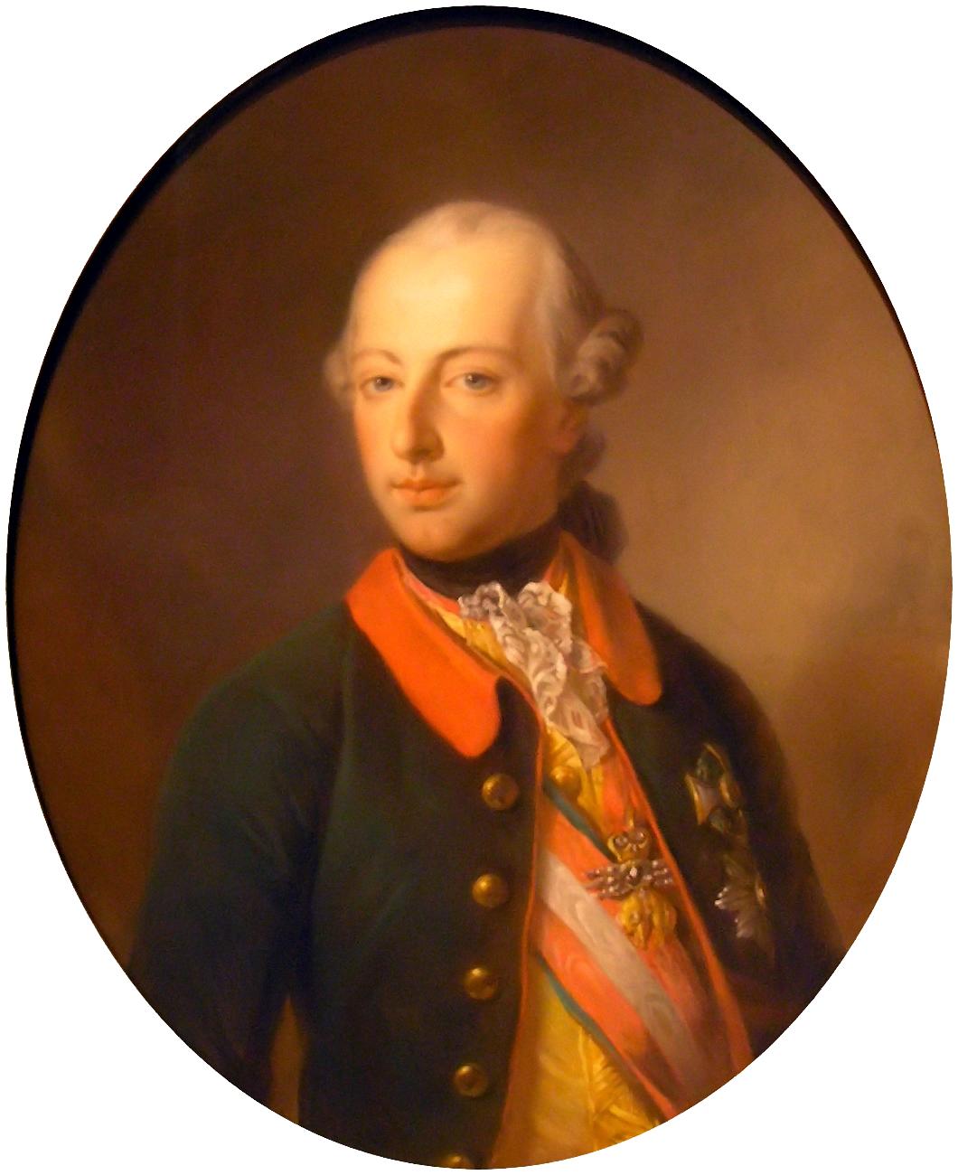 Emperor Joseph II Georg Decker (1818-1894).