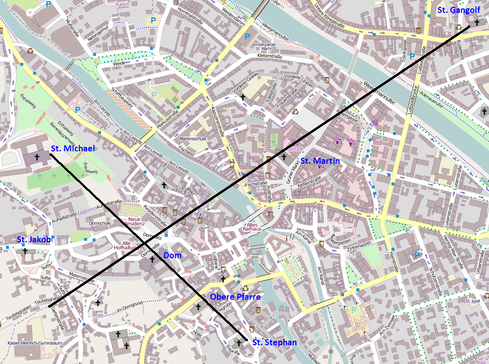 Karte Bamberg.Datei Kreuz Uber Bamberg Osm Png Wikipedia