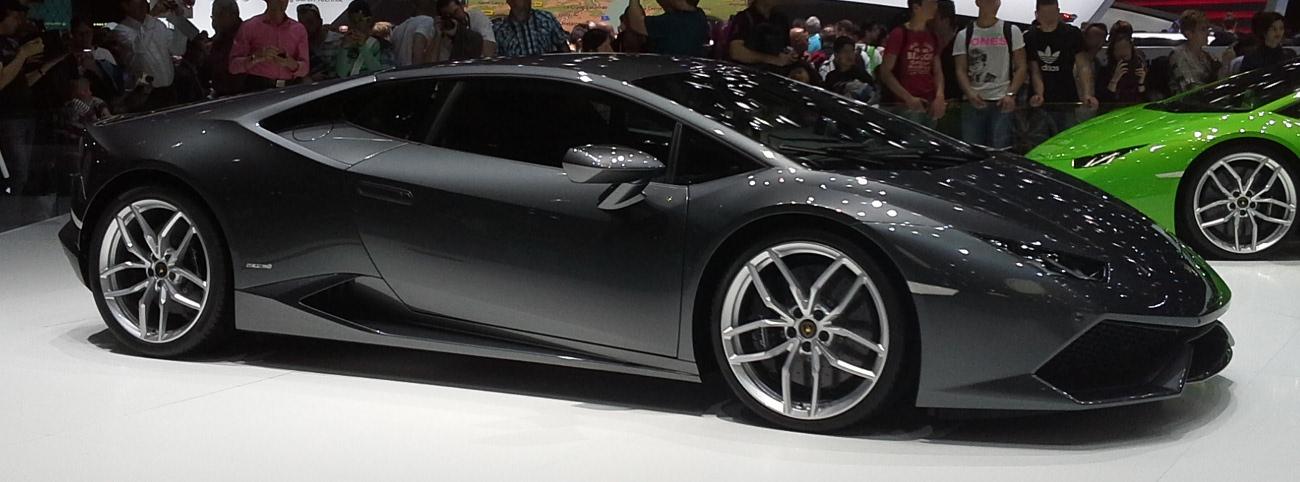 filelamborghini huracn 02 geneva motor show 2014 03 - Lamborghini Huracan Grey