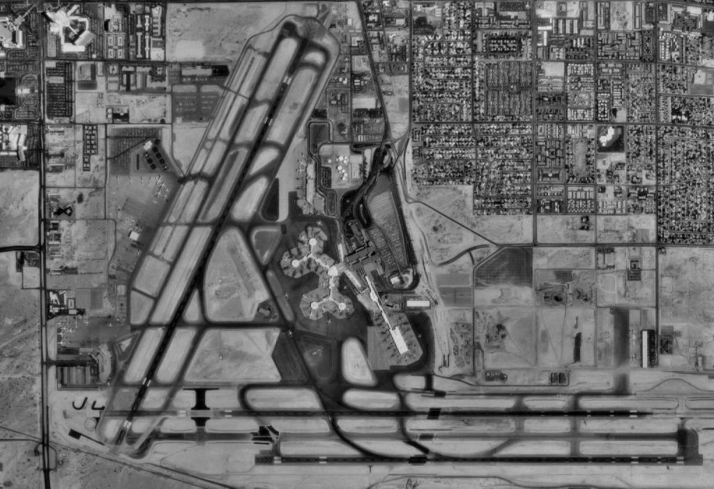 USGS-image of the airport (circa 1994)