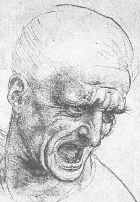 Leonardo da Vinci -Studio per la battaglia di Anghiari -1503