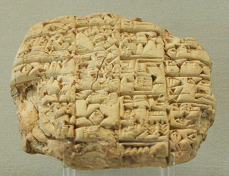 Clay tablet (wikipedia)