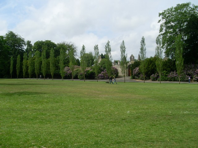 Looking to the Walled Gardens in Rouken Glen Park - geograph.org.uk - 1352410