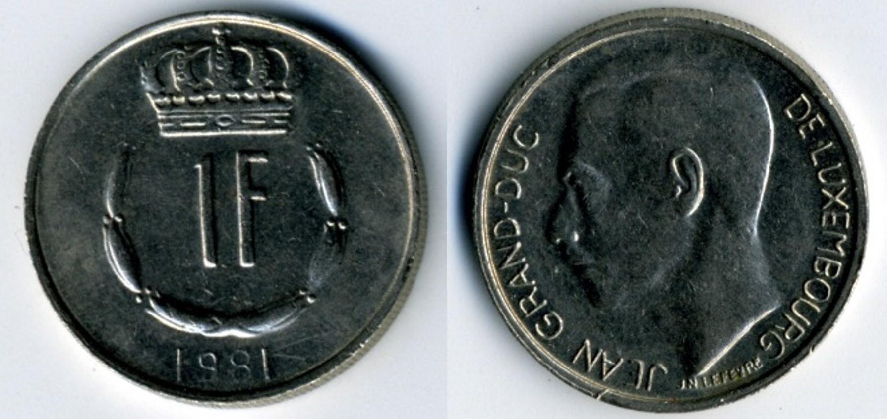 Luxembourg Franc Wikipedia