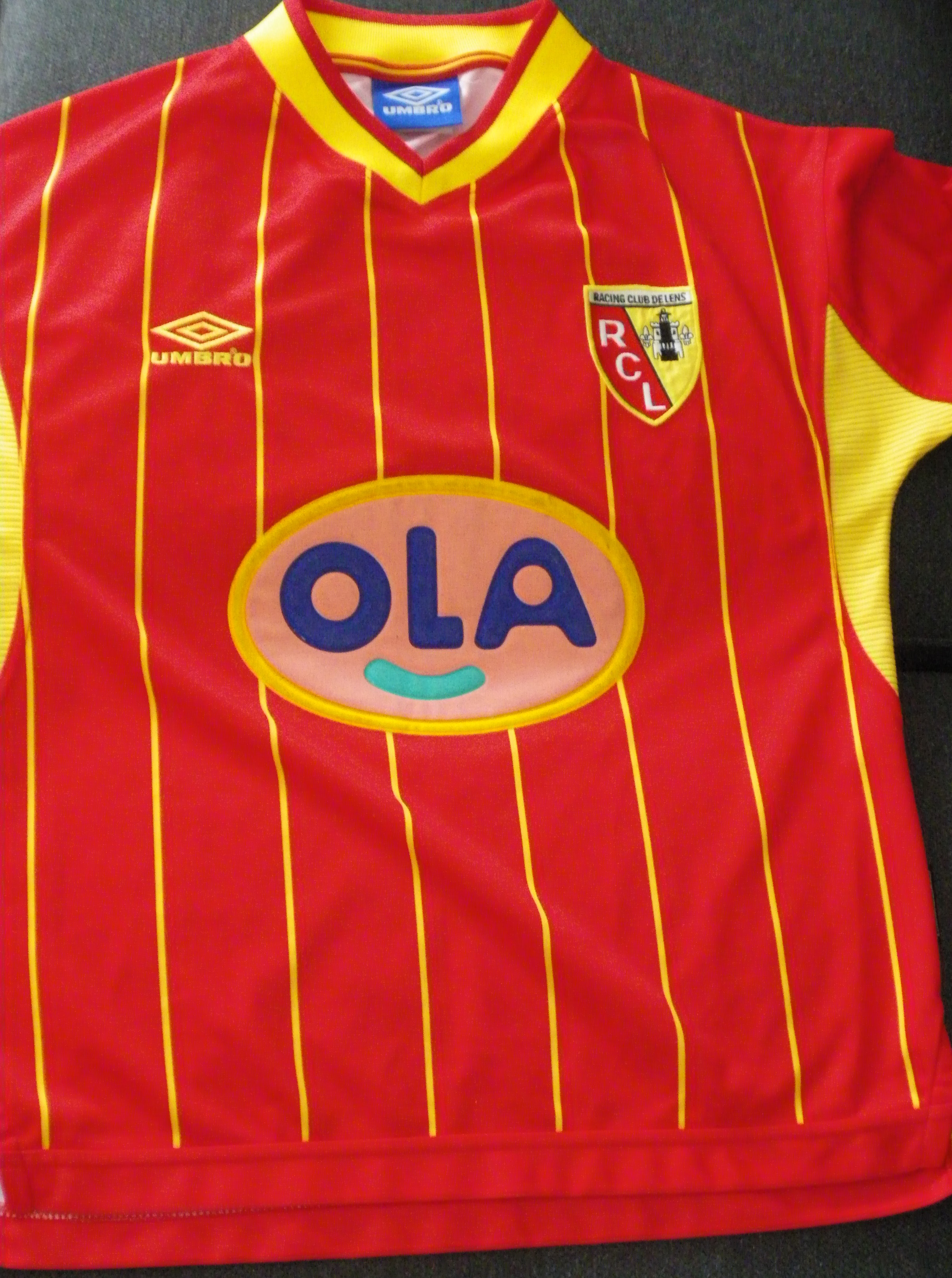 File Maillot Rc Lens 1999 2000 Jpg Wikimedia Commons