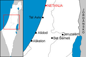 Map of Netanja cs.png
