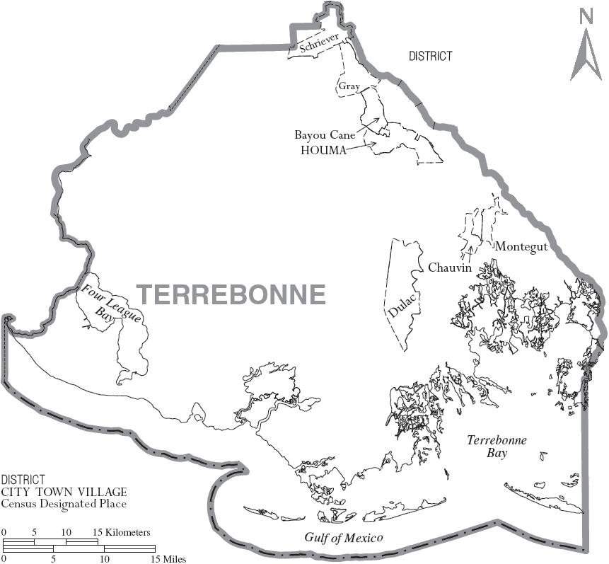Last Island Louisiana Map