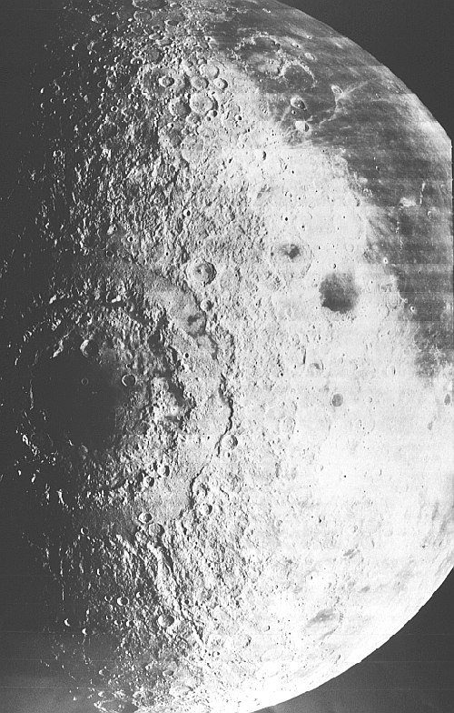 Кордильеры (Луна)– внешнее кольцо вокруг моря Восточного