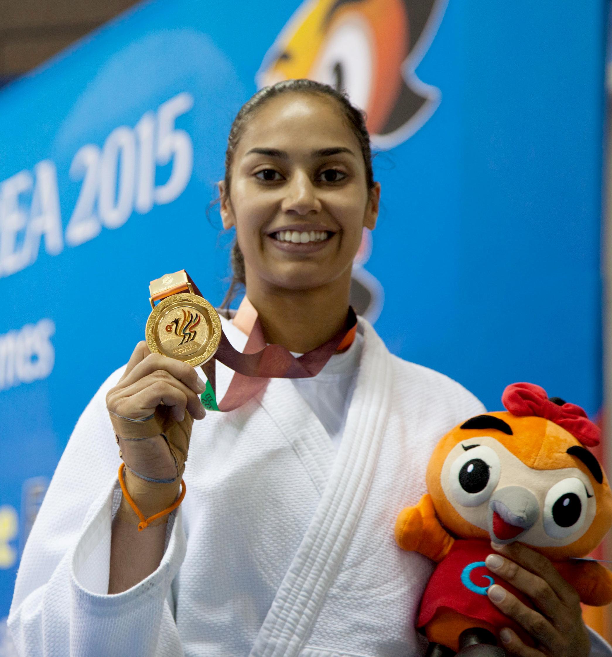 Silva at the [[2015 Military World Games]]
